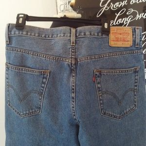 Levi 550 Relaxed Fit Jeans Size 36X32